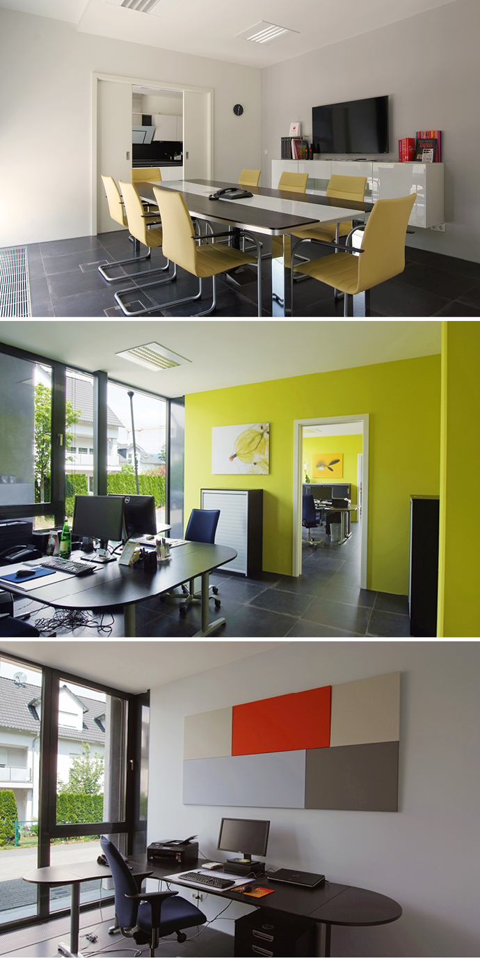 Farbe Lieblingsbüro